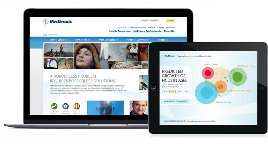 Medtronic - Zubasti Interactive - Minneapolis web design
