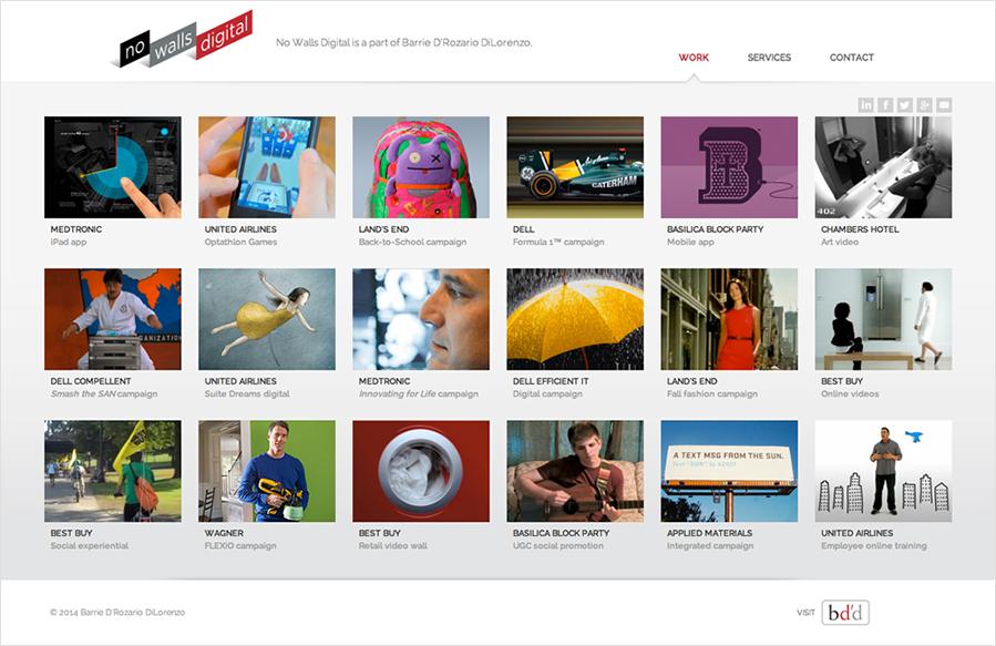 Top Logo Design minneapolis logo design : no walls digital logo website role logo design site design and ...